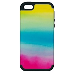 Watercolour Gradient Apple iPhone 5 Hardshell Case (PC+Silicone)