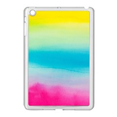 Watercolour Gradient Apple iPad Mini Case (White)