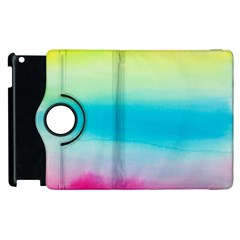 Watercolour Gradient Apple iPad 3/4 Flip 360 Case