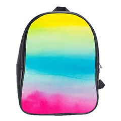 Watercolour Gradient School Bags (XL)
