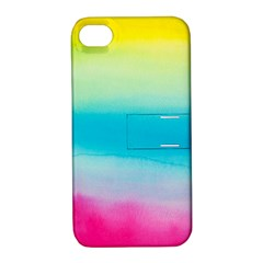 Watercolour Gradient Apple iPhone 4/4S Hardshell Case with Stand