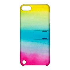 Watercolour Gradient Apple iPod Touch 5 Hardshell Case with Stand