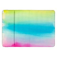 Watercolour Gradient Samsung Galaxy Tab 8.9  P7300 Flip Case