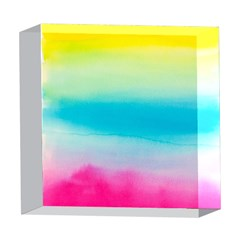 Watercolour Gradient 5  x 5  Acrylic Photo Blocks