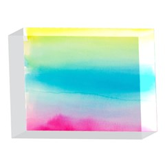 Watercolour Gradient 5 x 7  Acrylic Photo Blocks