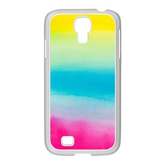 Watercolour Gradient Samsung GALAXY S4 I9500/ I9505 Case (White)