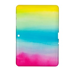 Watercolour Gradient Samsung Galaxy Tab 2 (10.1 ) P5100 Hardshell Case