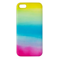 Watercolour Gradient iPhone 5S/ SE Premium Hardshell Case