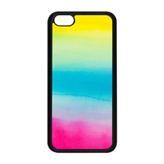 Watercolour Gradient Apple iPhone 5C Seamless Case (Black)