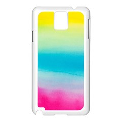 Watercolour Gradient Samsung Galaxy Note 3 N9005 Case (White)