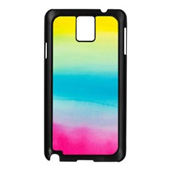 Watercolour Gradient Samsung Galaxy Note 3 N9005 Case (Black)