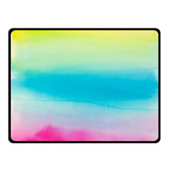 Watercolour Gradient Double Sided Fleece Blanket (Small)