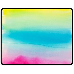 Watercolour Gradient Double Sided Fleece Blanket (Medium)