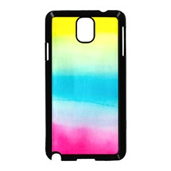 Watercolour Gradient Samsung Galaxy Note 3 Neo Hardshell Case (Black)
