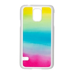 Watercolour Gradient Samsung Galaxy S5 Case (White)
