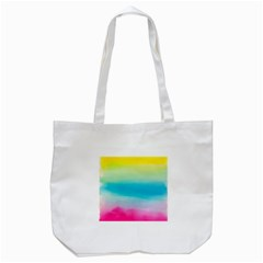 Watercolour Gradient Tote Bag (White)