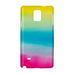 Watercolour Gradient Samsung Galaxy Note 4 Hardshell Case