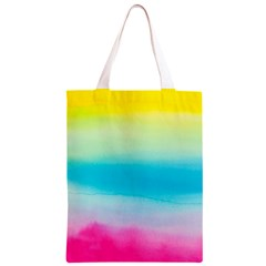 Watercolour Gradient Classic Light Tote Bag