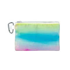 Watercolour Gradient Canvas Cosmetic Bag (S)