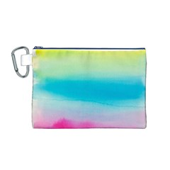 Watercolour Gradient Canvas Cosmetic Bag (M)