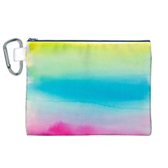 Watercolour Gradient Canvas Cosmetic Bag (XL)