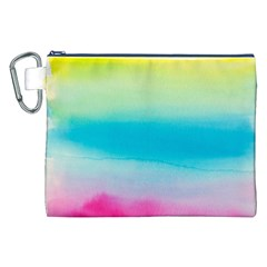 Watercolour Gradient Canvas Cosmetic Bag (XXL)