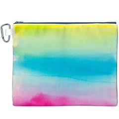 Watercolour Gradient Canvas Cosmetic Bag (XXXL)