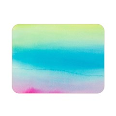 Watercolour Gradient Double Sided Flano Blanket (Mini)