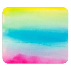 Watercolour Gradient Double Sided Flano Blanket (Small)