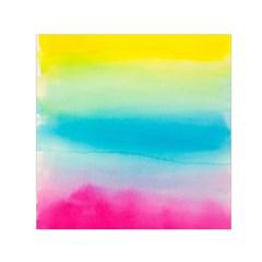Watercolour Gradient Small Satin Scarf (Square)