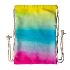 Watercolour Gradient Drawstring Bag (Large)