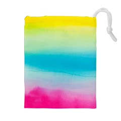 Watercolour Gradient Drawstring Pouches (Extra Large)