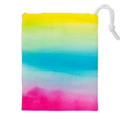 Watercolour Gradient Drawstring Pouches (XXL)