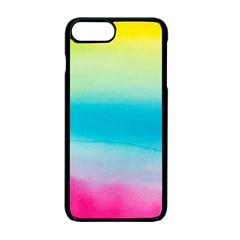 Watercolour Gradient Apple iPhone 7 Plus Seamless Case (Black)