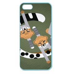 Chetah Animals Apple Seamless iPhone 5 Case (Color)