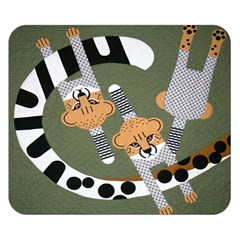 Chetah Animals Double Sided Flano Blanket (Small)