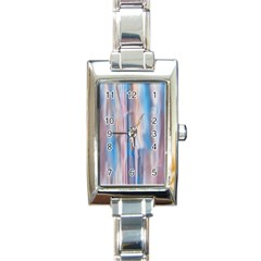Vertical Abstract Contemporary Rectangle Italian Charm Watch