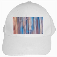 Vertical Abstract Contemporary White Cap