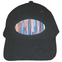 Vertical Abstract Contemporary Black Cap