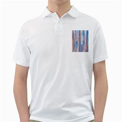 Vertical Abstract Contemporary Golf Shirts