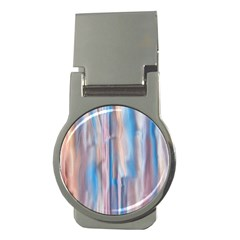 Vertical Abstract Contemporary Money Clips (Round)