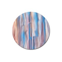 Vertical Abstract Contemporary Magnet 3  (Round)