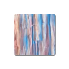 Vertical Abstract Contemporary Square Magnet