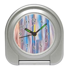 Vertical Abstract Contemporary Travel Alarm Clocks