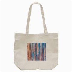 Vertical Abstract Contemporary Tote Bag (Cream)