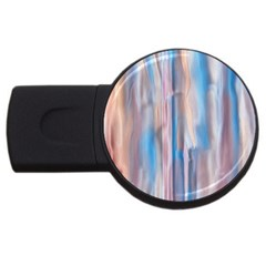 Vertical Abstract Contemporary USB Flash Drive Round (4 GB)