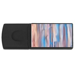 Vertical Abstract Contemporary USB Flash Drive Rectangular (4 GB)
