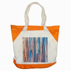 Vertical Abstract Contemporary Accent Tote Bag