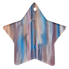 Vertical Abstract Contemporary Star Ornament (Two Sides)