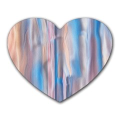 Vertical Abstract Contemporary Heart Mousepads